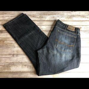 Wrangler Jeans Co Straight Fit Dark Wash 36x30